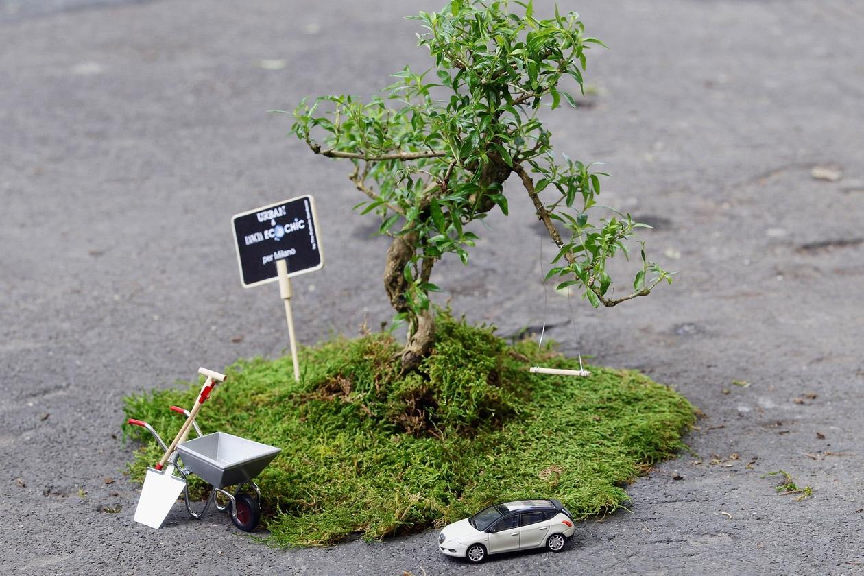 Urban & Lancia Ecochic   Guerrilla Gardening con Pothole Gardener 9   Credits LanciaExperience (Photo by Vittorio Zunino Celotto Getty Images)