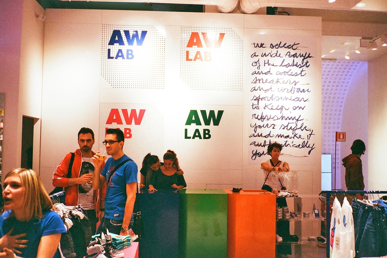 AW Lab: Athletes World apre a Milano