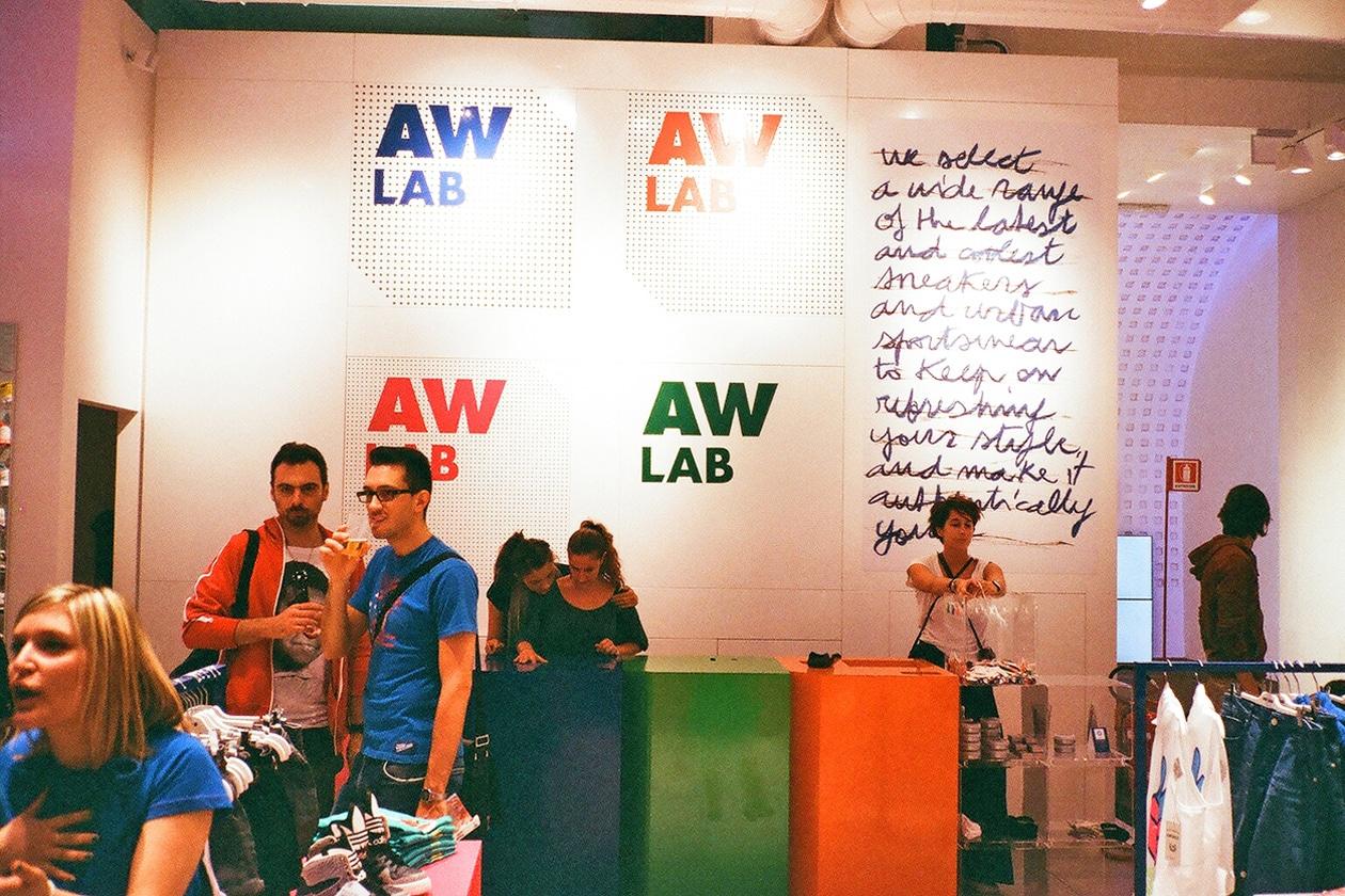 AW Lab: Athletes World apre a Milano