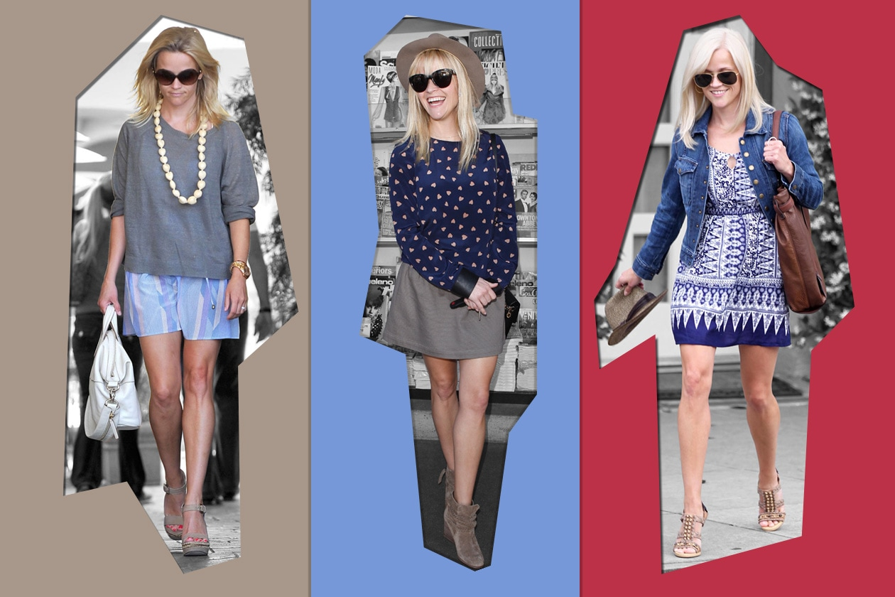 Chic col pancione come Reese Witherspoon
