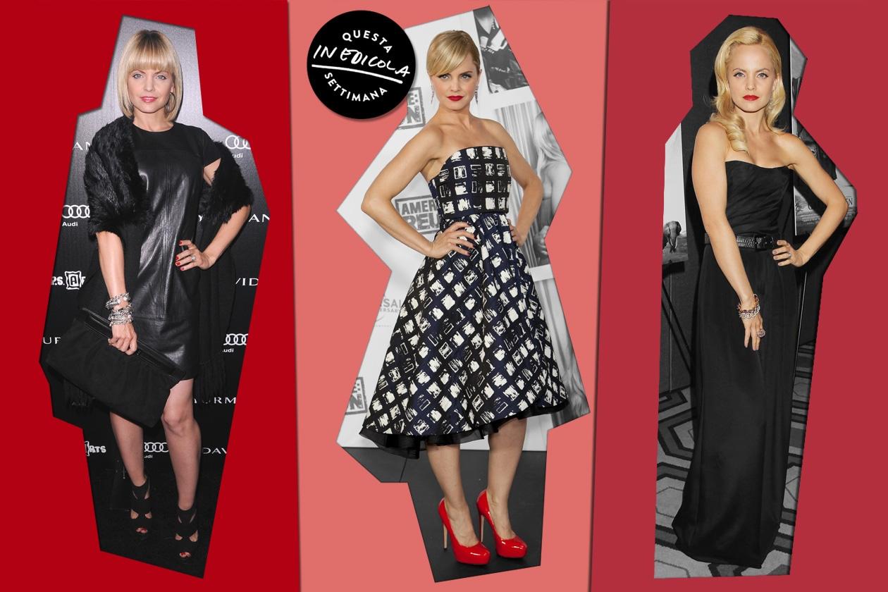Mena Suvari, fashion icon della settimana