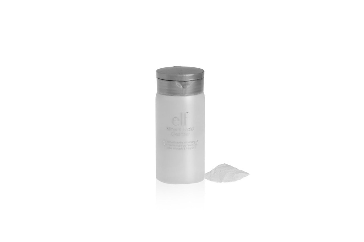 mineral face cleanser elf