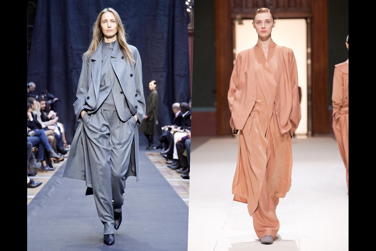 Anteprima Moda A/I 2012-13: rigorosi tailleur Eighties