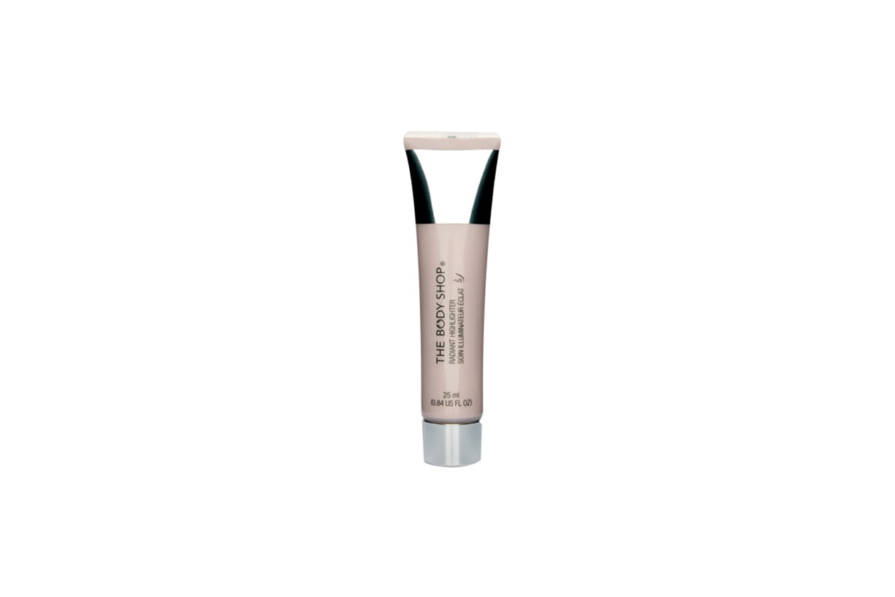 radiant highlighter the body shop