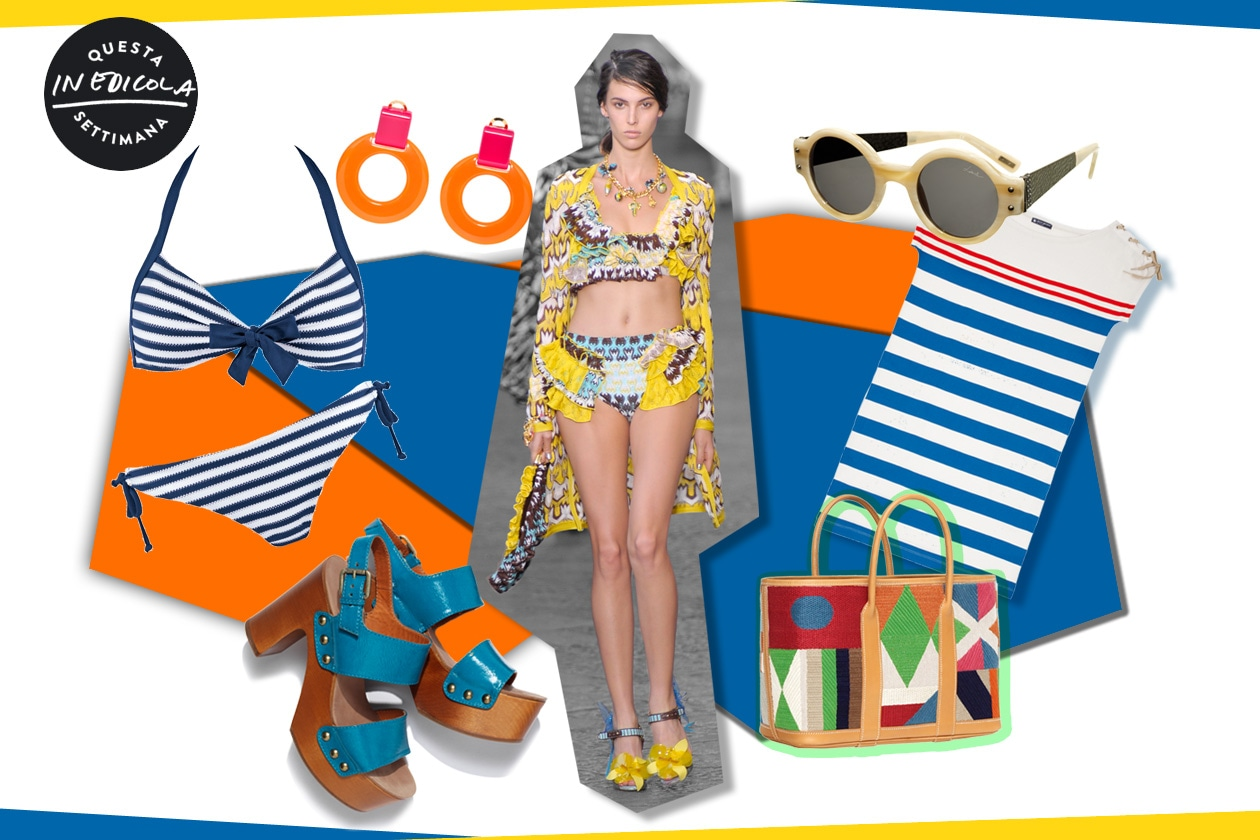 Summer look: estate in technicolor