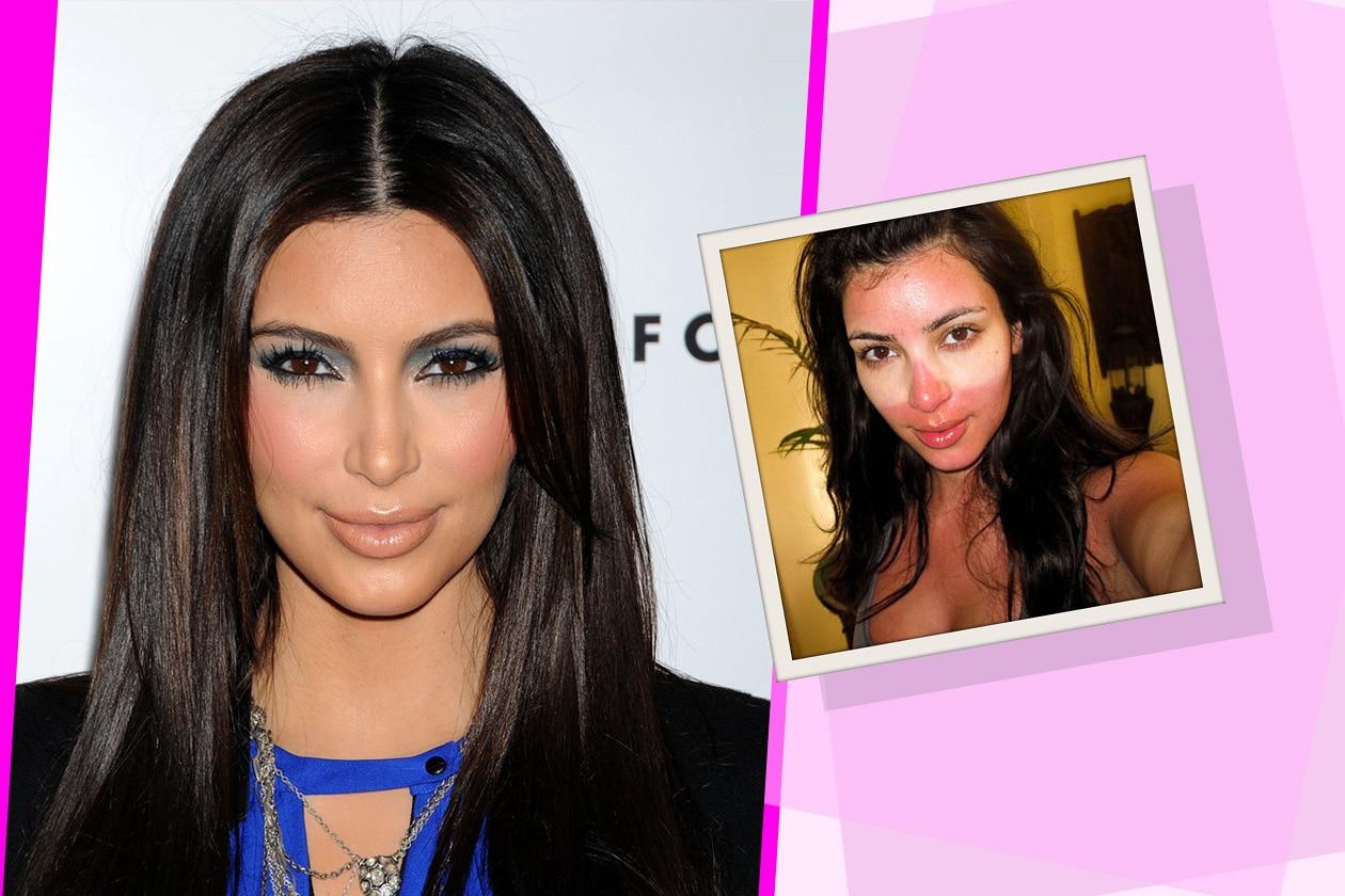 04 Kim Kardashian NOMAKEUP