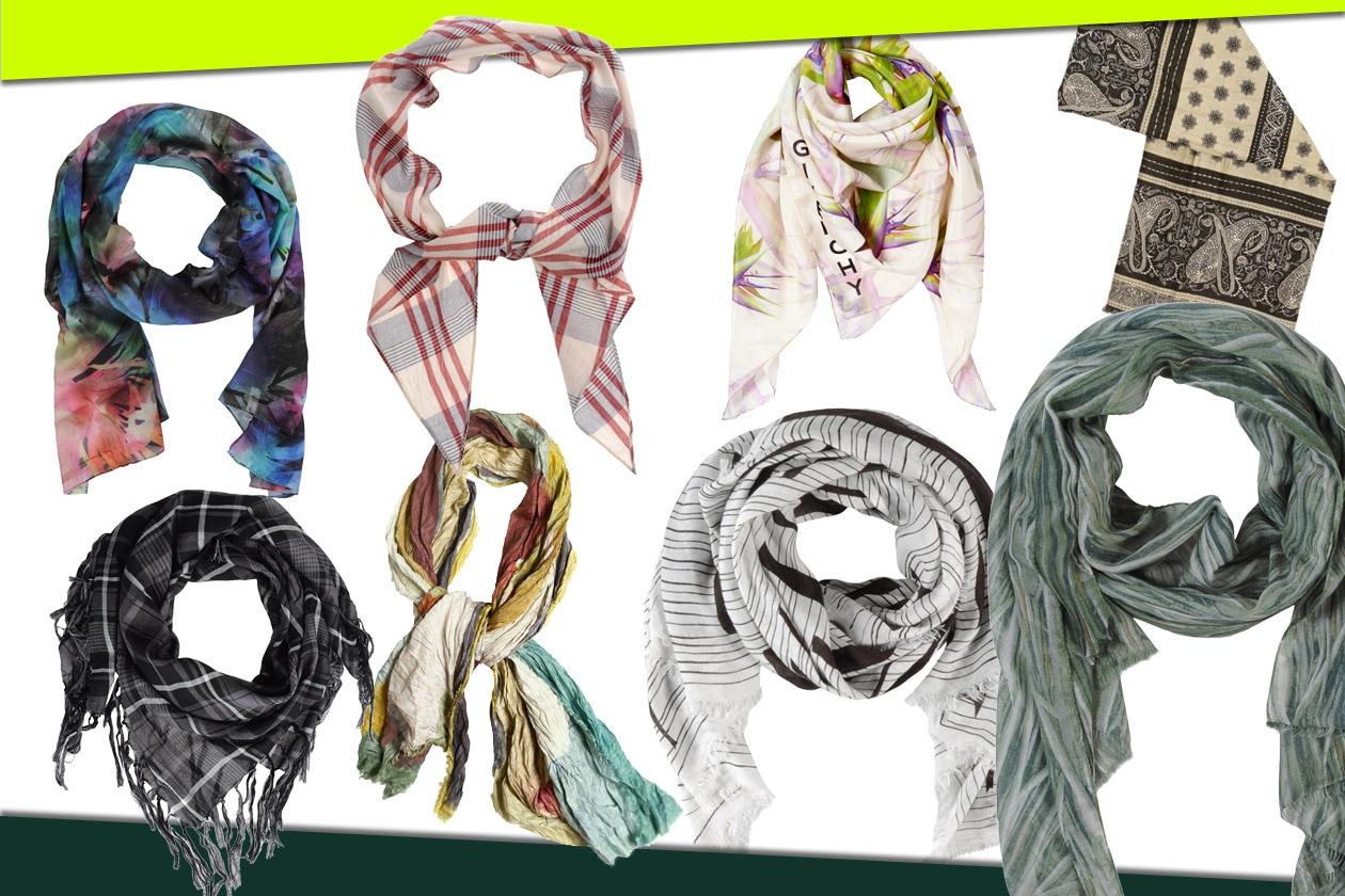 10 collage foulard