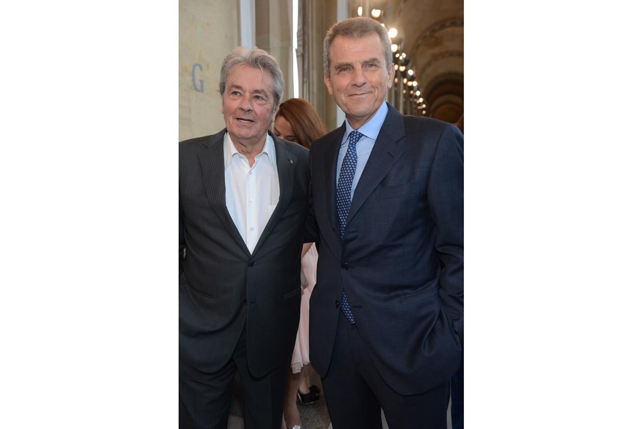 Alain Delon Ferruccio Ferragamo SGP