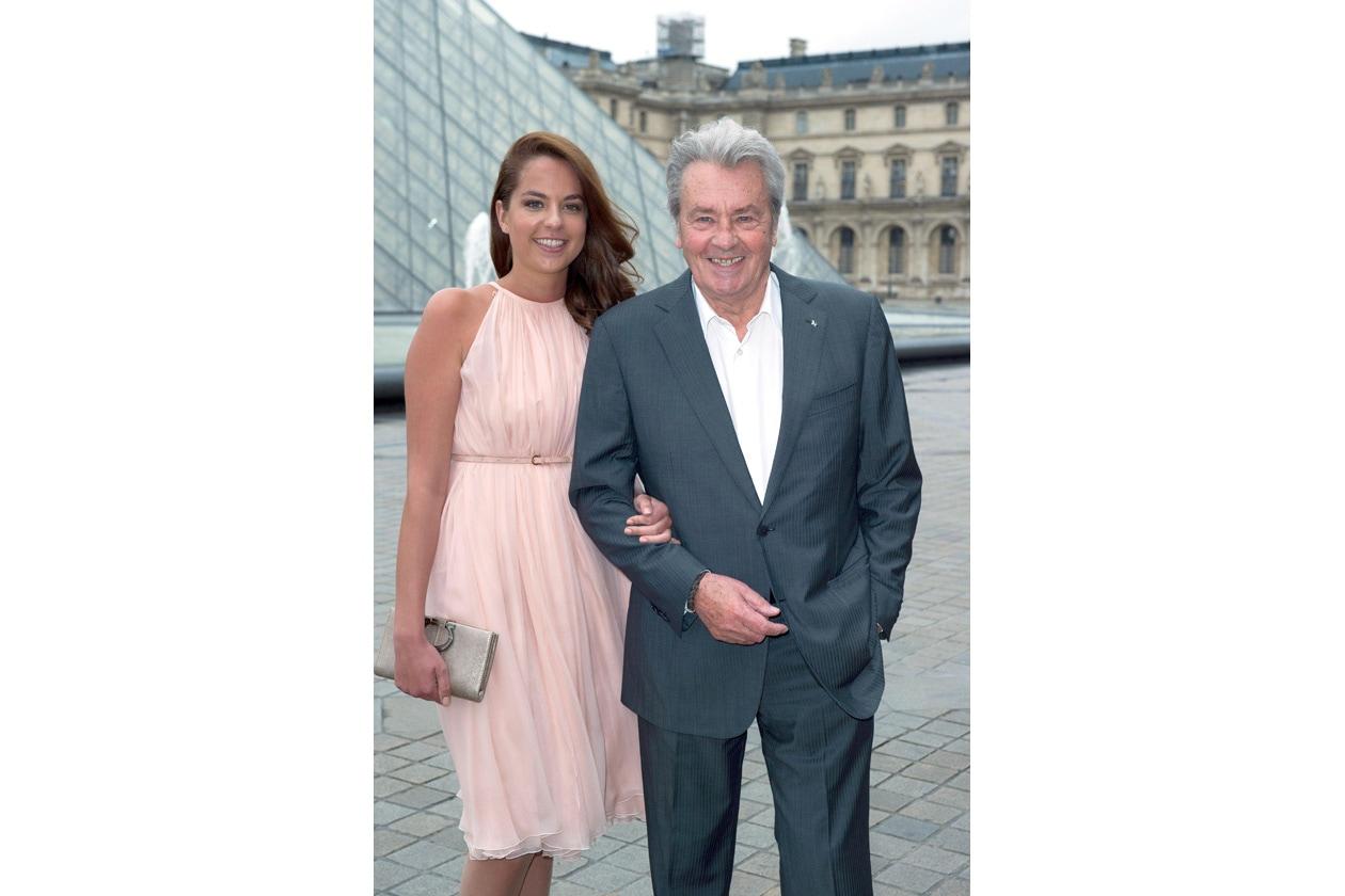 Alain Delon e Anouchka Delon
