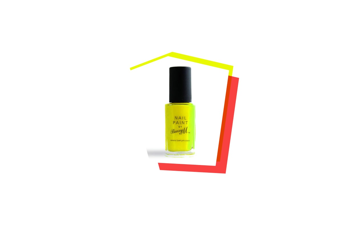 Beauty SmaltiFluo barry m nail paint neon yellow large 1260×840