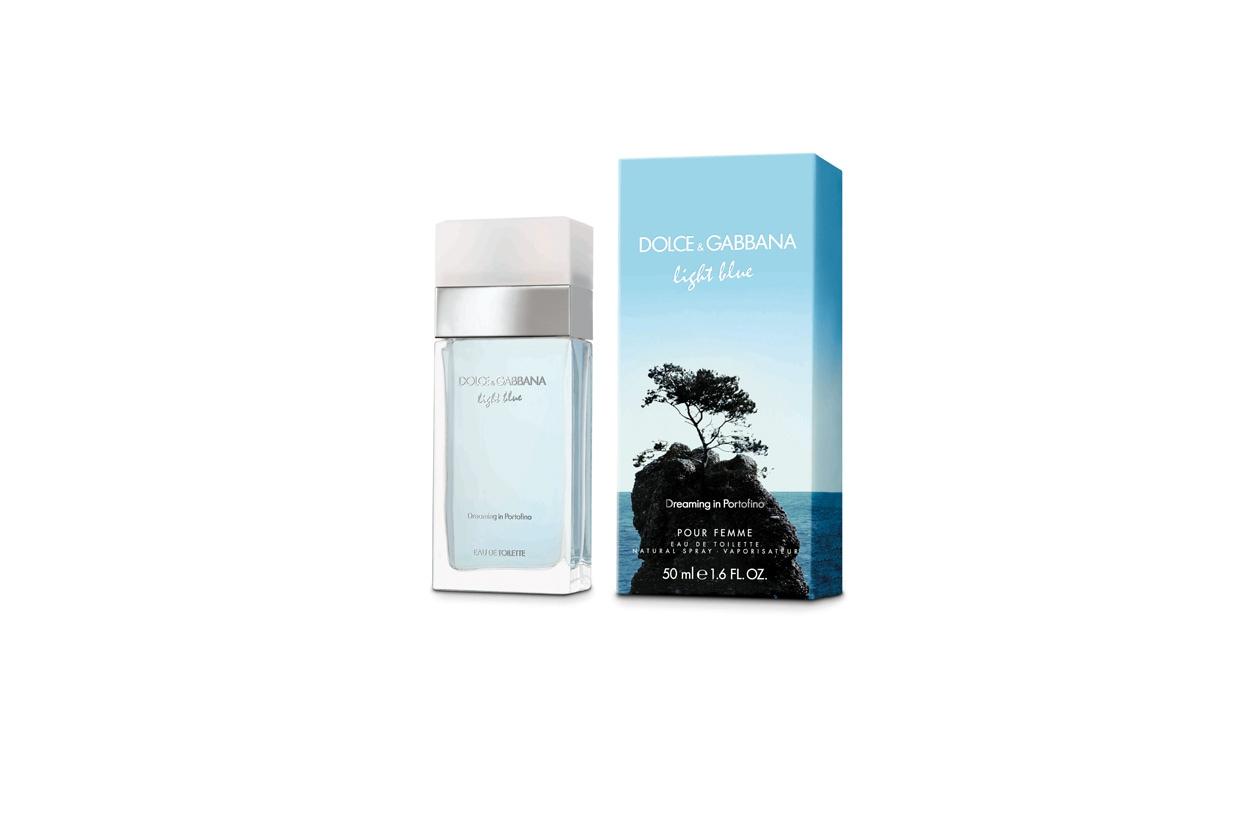 Dreaming in Portofino è la nuova edizione limitata del profumo Light Blue di Dolce&Gabbana ispirata alla freschezza del Mediterraneo