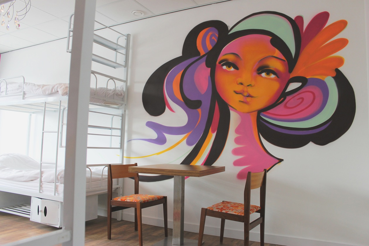 Graffiti Girl Room foto Martin Aas from La Productions