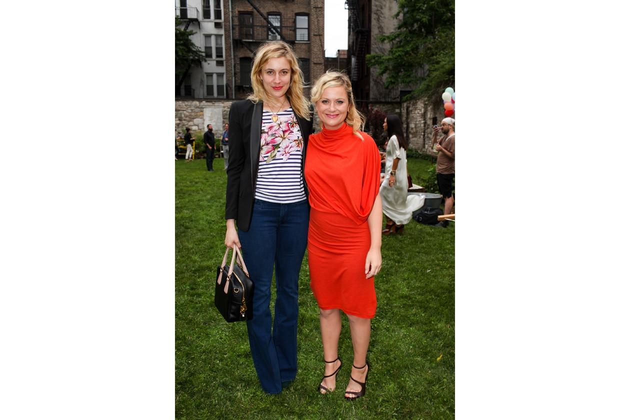 Greta Gerwig e Amy Pohler