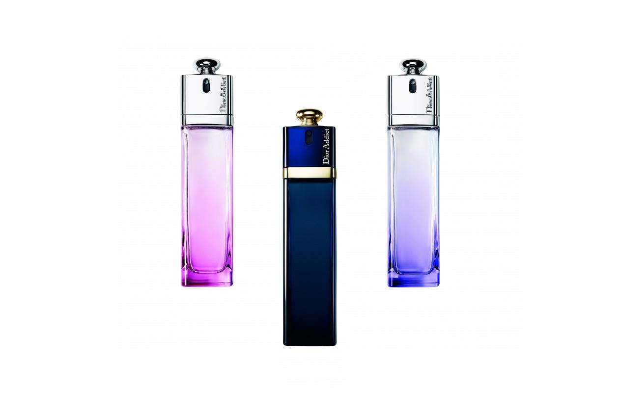 Il Dior Addict Eau Fraîche ha un fiorito leggero caratterizzato dalle note verdi di bergamotto, foglie di mandarino e vaniglia