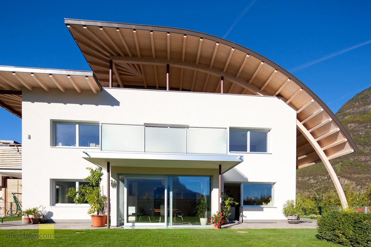 Il Sandwiesenhof è stato costruito secondo i selettivi criteri di bioedilizia
