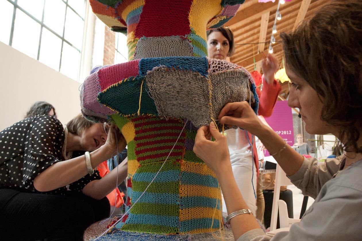 Knit Cfè workshop