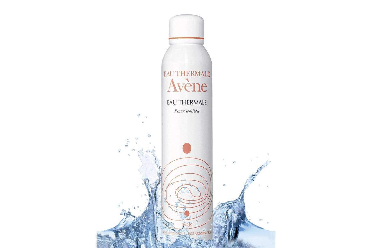 L'acqua termale di Avène dona subito sollievo alla pelle arrossata e sensibile