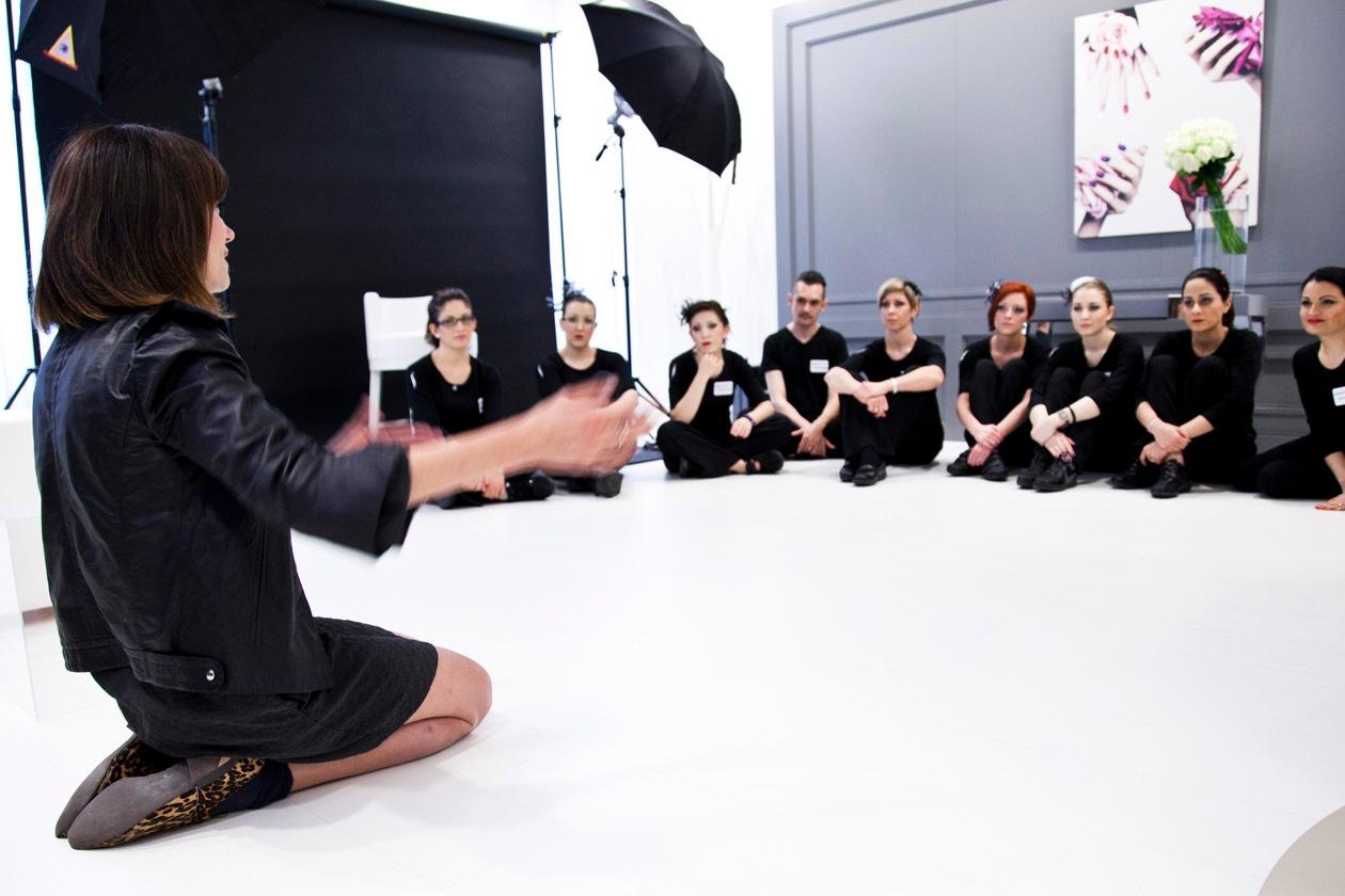 La stylist Susanna Ausoni dà utili consigli agli sfidanti dei Make Up Masters di Sephora 2012 by Lancôme