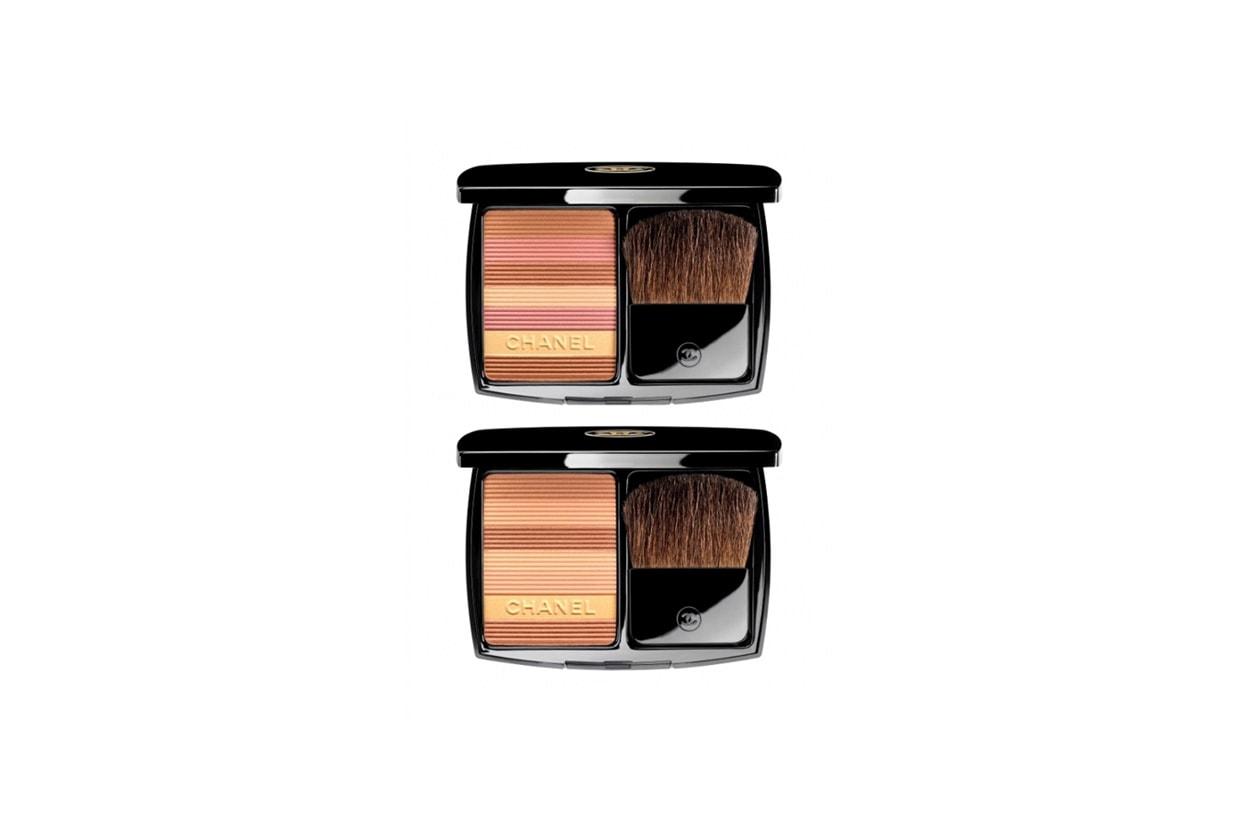 La terra abbronzante di Chanel è disponibile in due versioni, ognuna con sette nuance differenti