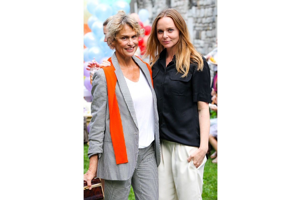 Lauren Hutton e Stella McCartney