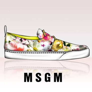 Le prime sneakers firmate MSGM