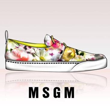 Le prime sneakers firmate MSGM