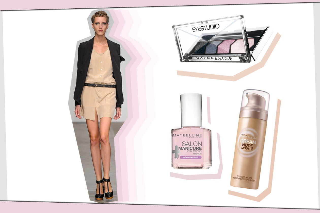 Look fresco per United Bamboo come il make up by Maybelline
