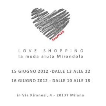 Love Shopping: la moda sostiene i paesi terremotati