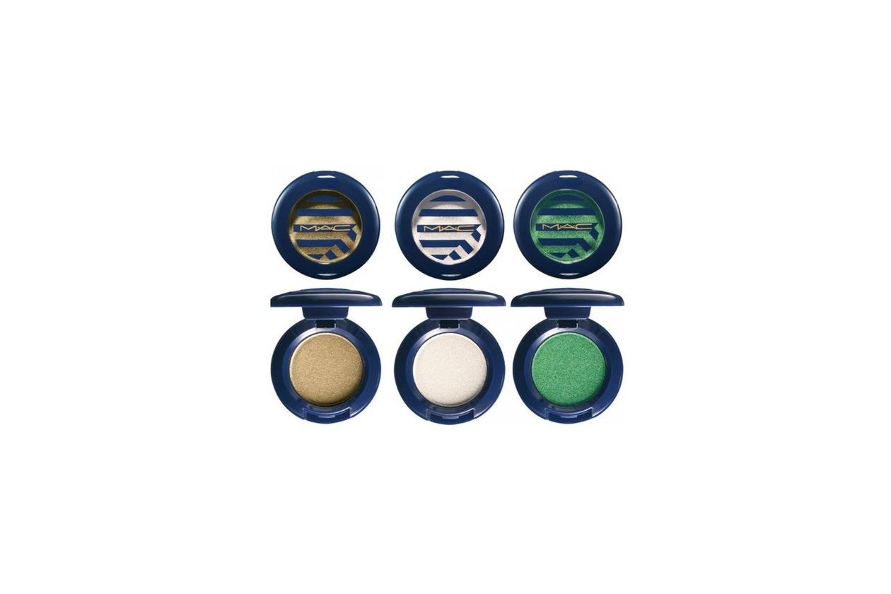 Mixate i mono nude e bronzo della collezione Mac Sailor al verde menta o smeraldo: l'abbinamento è audace e perfetto sia di giorno sia di sera
