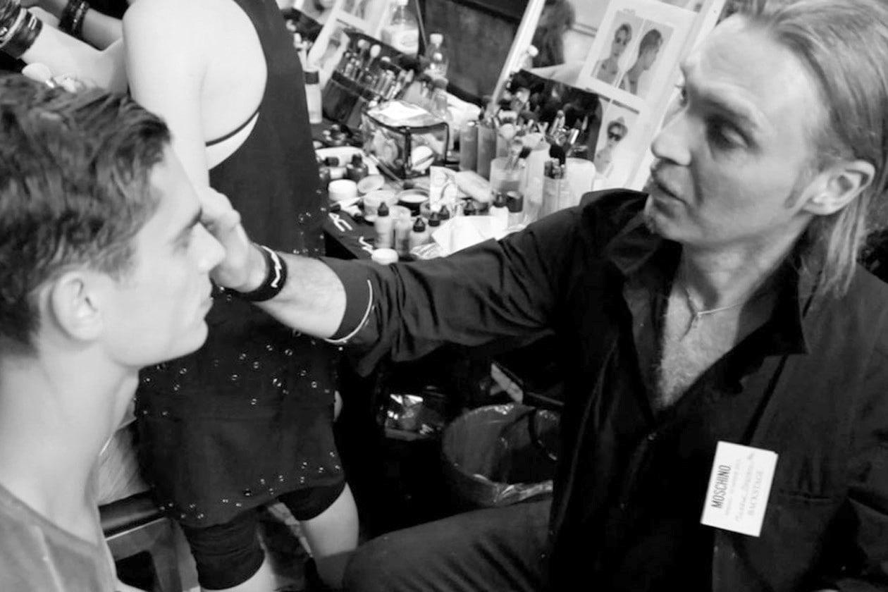 Moschino P/E 2013: il backstage hair & beauty