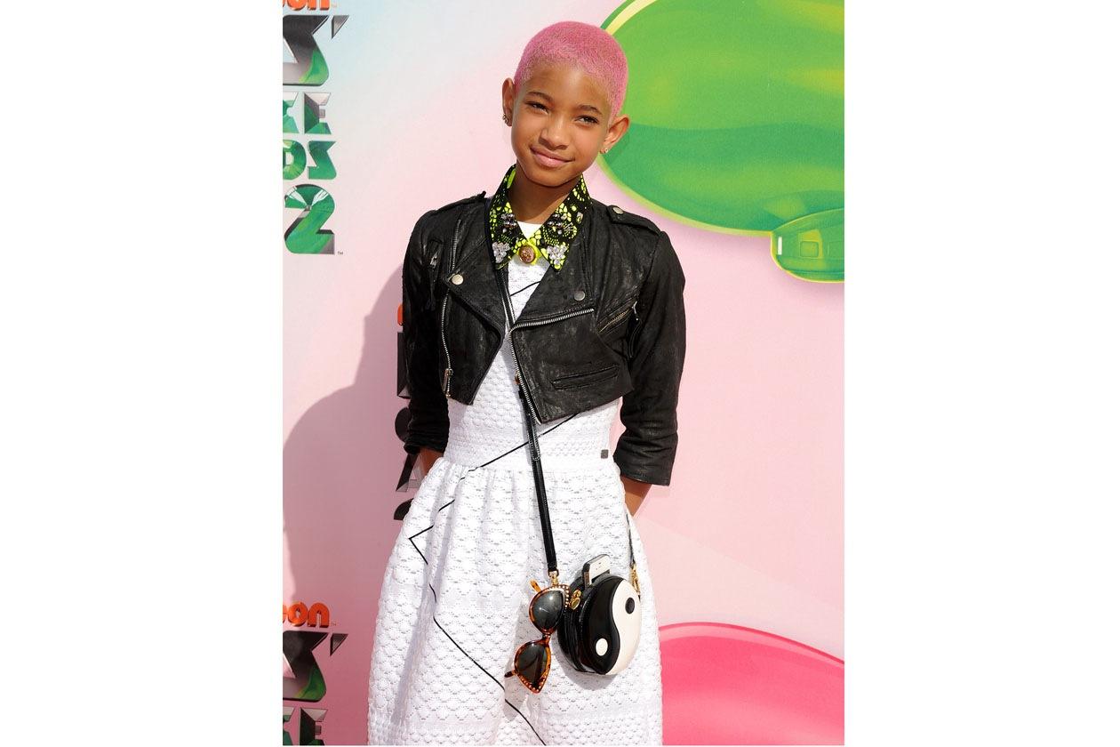Total pink per Willow Smith, la figlia del noto attore Will