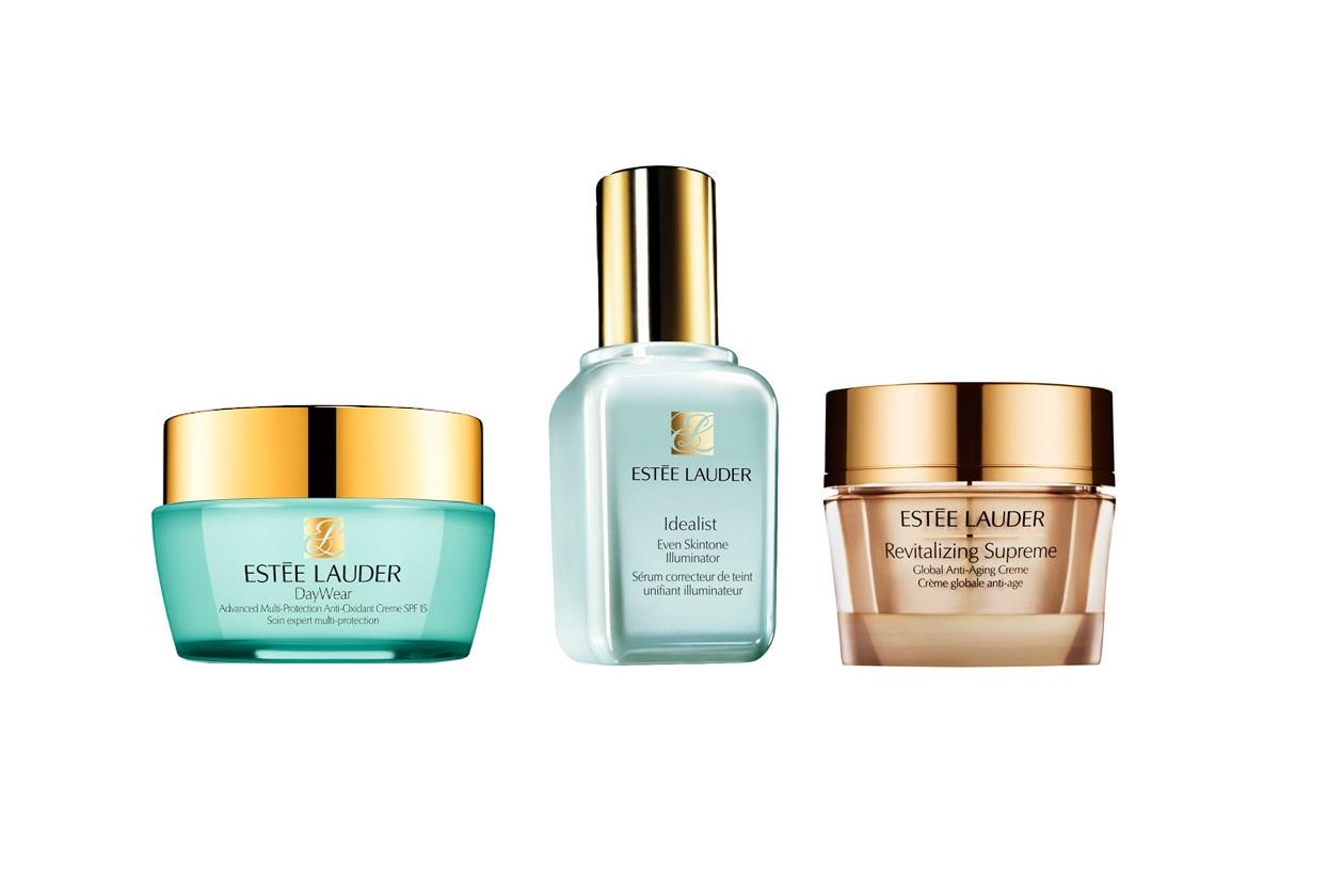 Un siero e due creme ad azione globale antiaging sono le soluzioni proposte da Estée Lauder