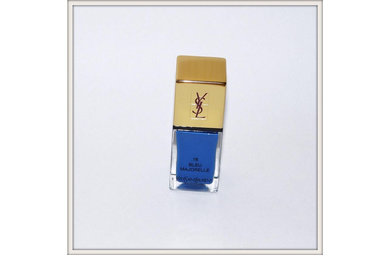 YSL blue majorelle