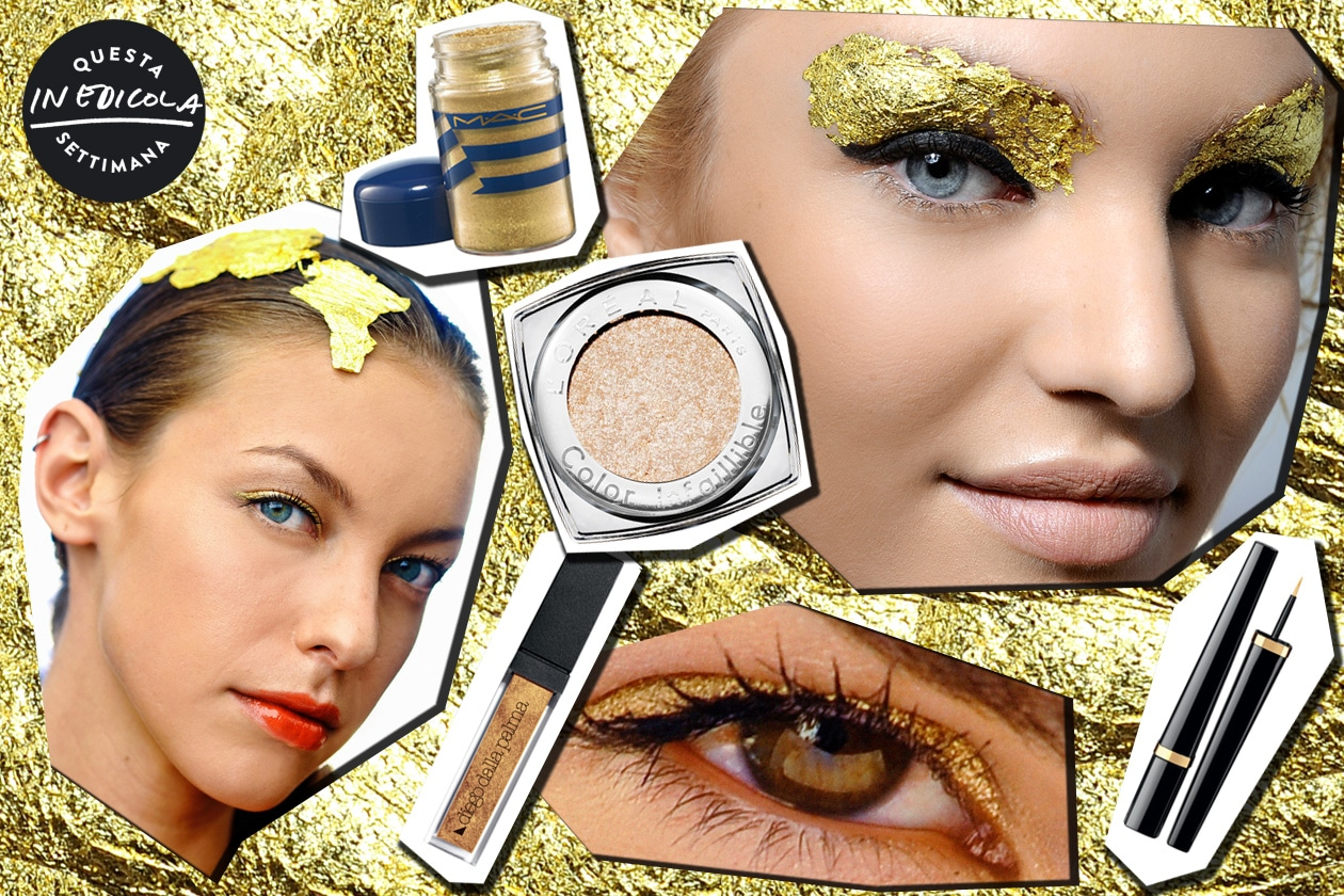 cover beauty gold