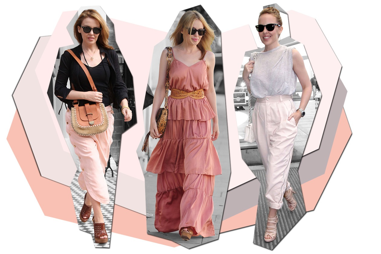 Kylie Minogue: Street Style Icon