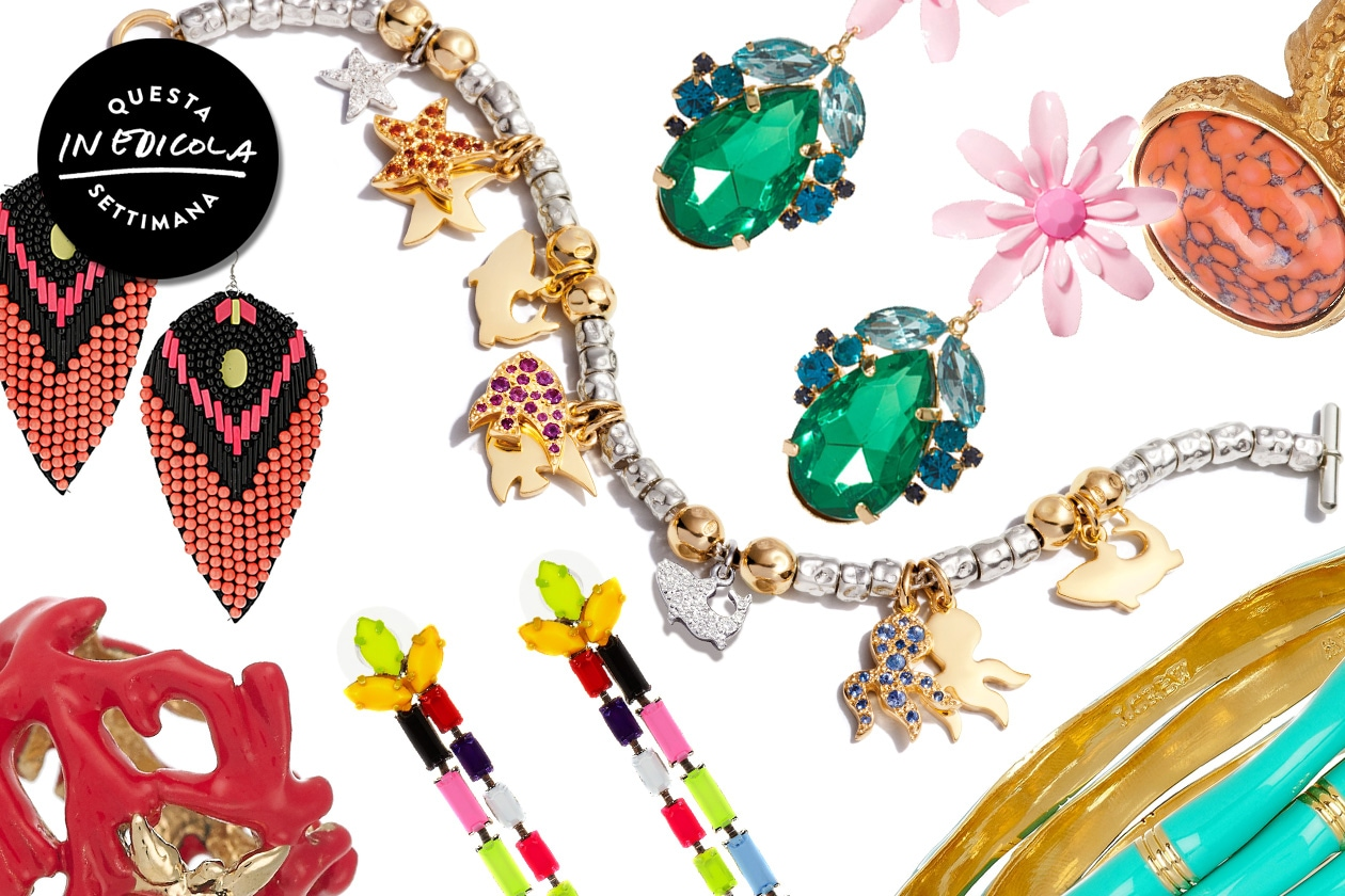 I bijoux colorati per l'estate