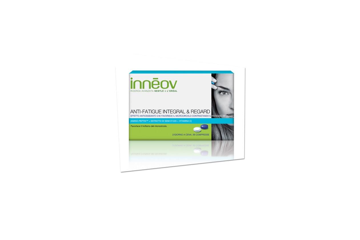 ANTI-FATIGUE INTEGRAL & REGARD di Inneov è un concentrato nutrizionale che favorisce il microcircolo