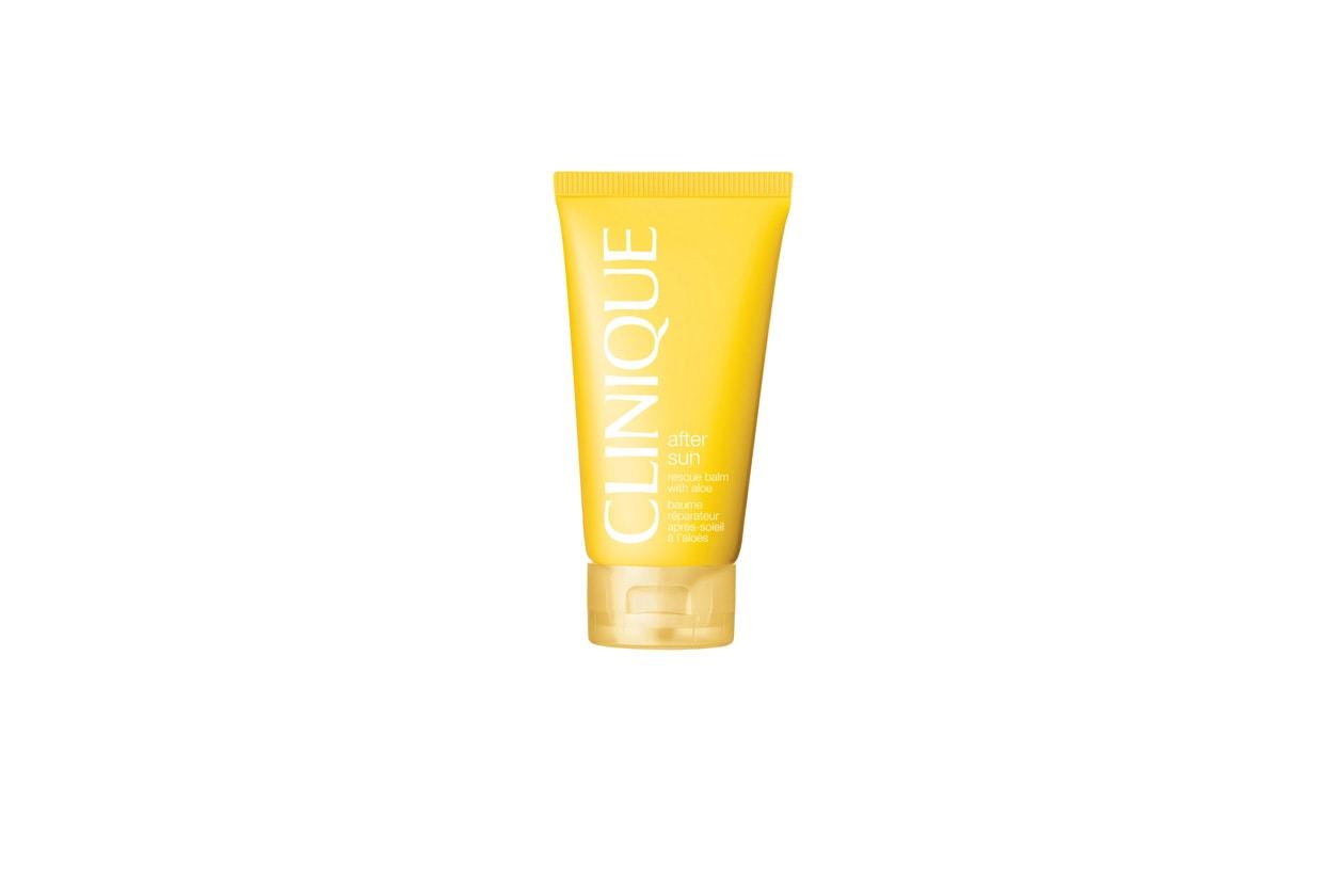 After Sun Rescue Balm with Aloe di Clinique aiuta a prevenire le spellature ed è pensato sia per il corpo sia per il viso