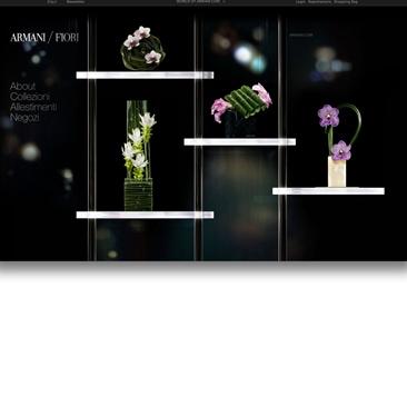 Armani/Fiori debutta sul web