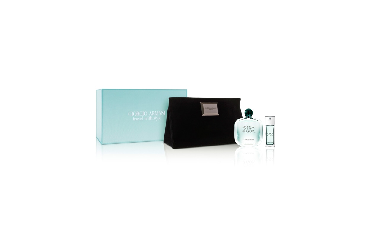 Beauty Travel Kit Giorgio Armani Travel with Style Acqua di Gioia