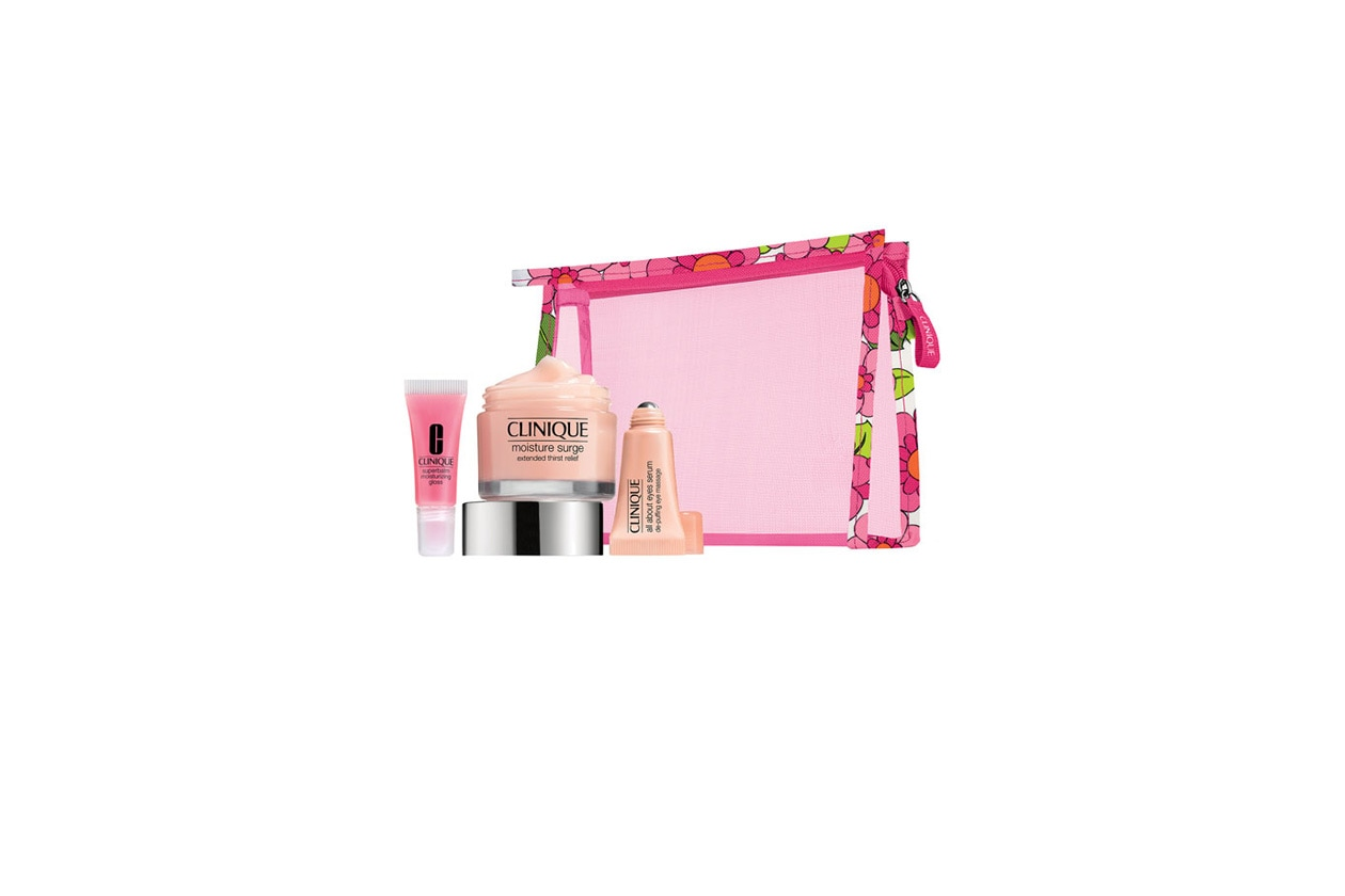 Beauty Travel Kit clinique moisture value set