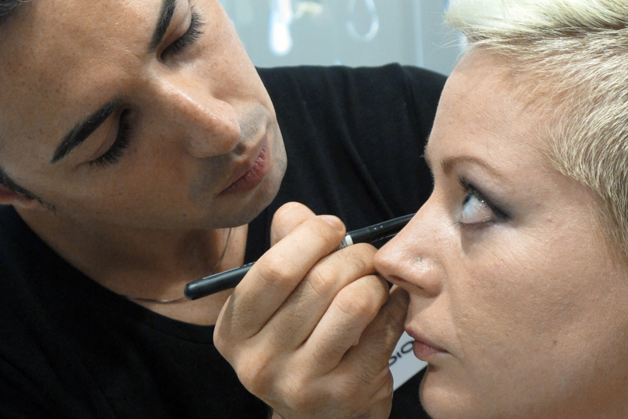 Claudio Ciccolella è uno dei cinque finalisti ai Make Up Masters di Sephora 2012 by Lancôme