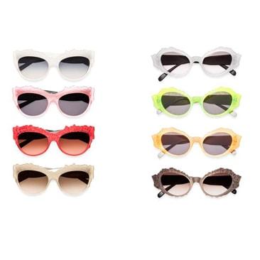 Marni eyewear: ricami e palette bon bon