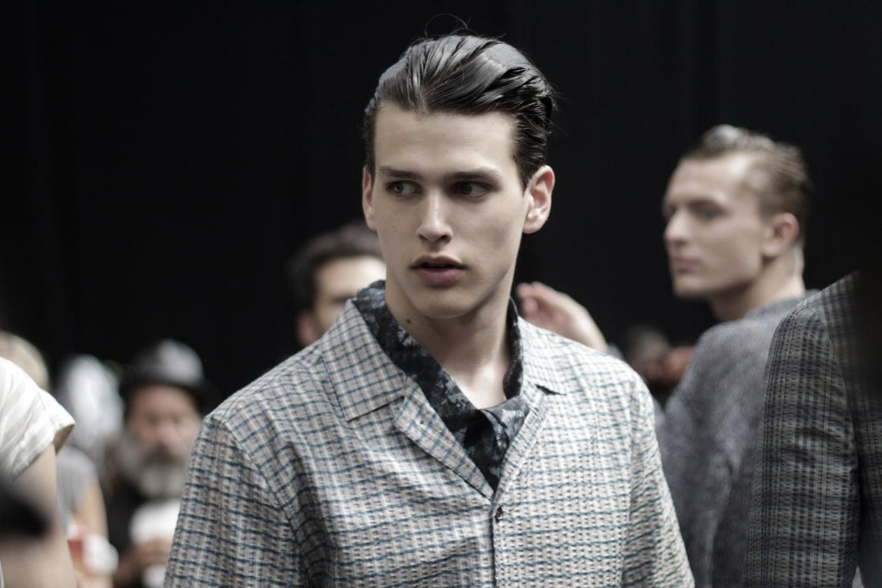 Louis Vuitton: il backstage della sfilata uomo
