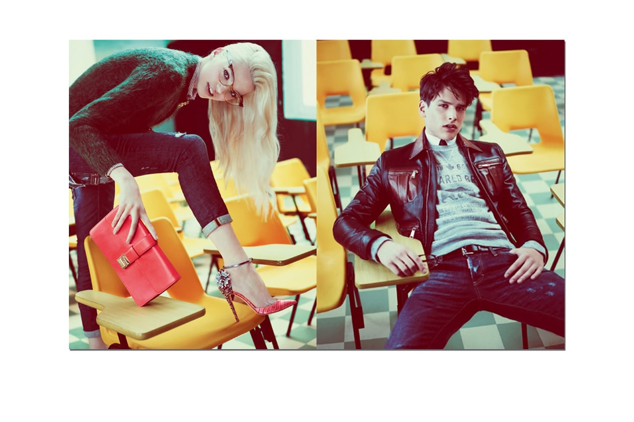 Tada Theory DSquared FW 2012 13 Campaign1