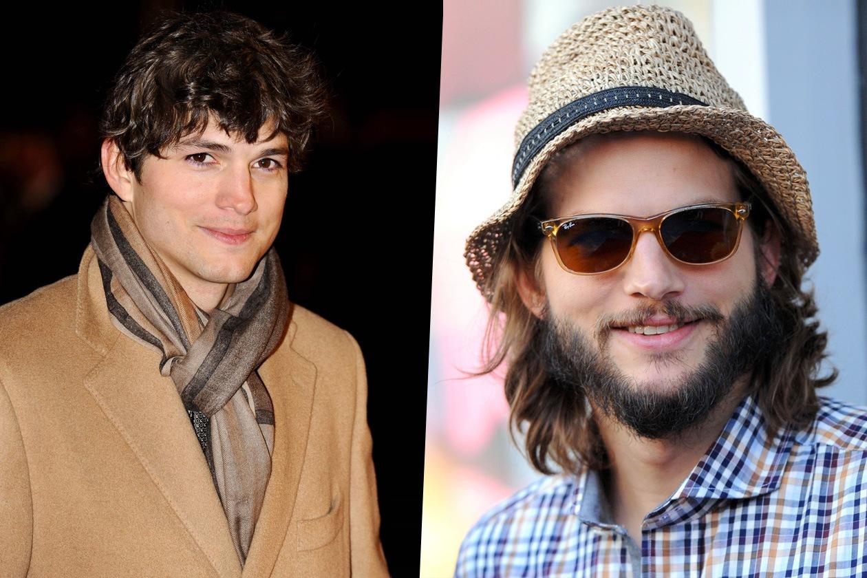 Ashton Kutcher barba