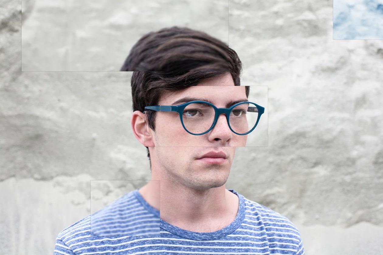Buratto occhiali da vista azzurri
