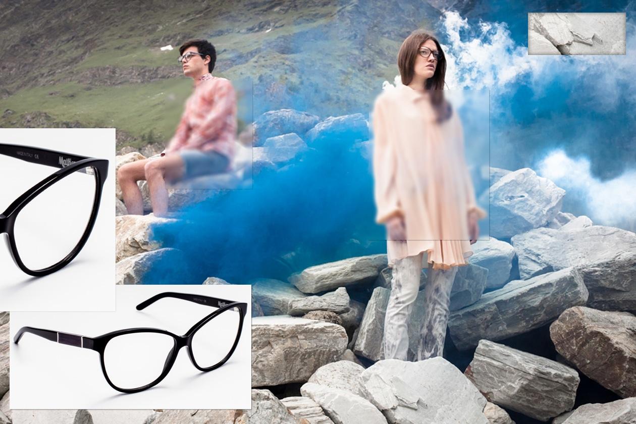 Buratto occhiali da vista montatura nera