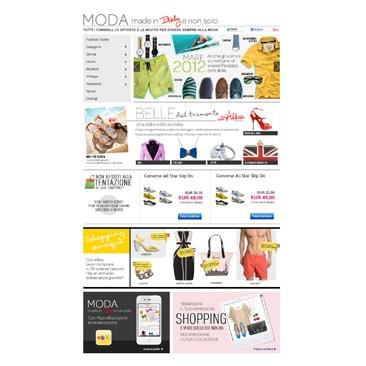 eBay lancia la sezione Fashion