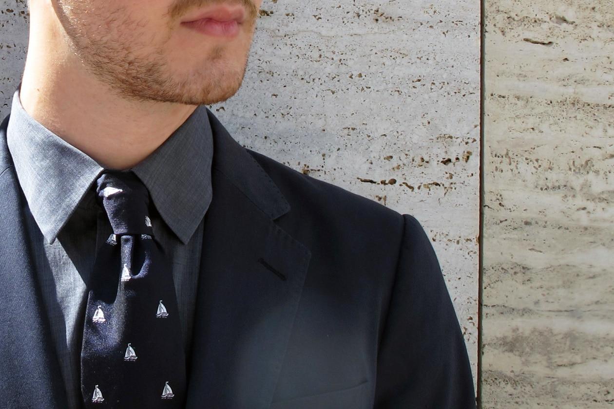 Cilento: cravatta d'autore